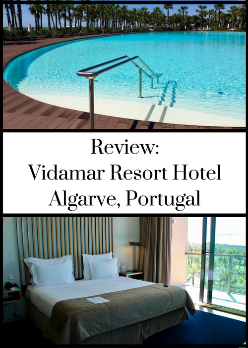 Vidamar Resort Hotel is a five star luxury hotel in a peaceful location on Portugal's Algarve coast. Click through for a full and honest review, including a brief room tour video, with details of the food, facilities, location and more.