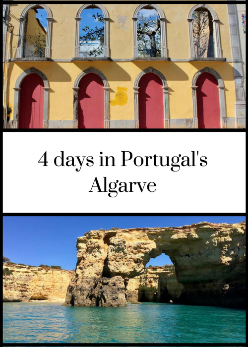 How to explore Portugal's Algarve in 4 days, including ideas for things to see and do, how to get there and where to stay - click through for full details.