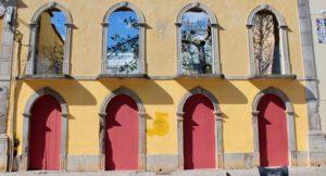 Derelict building, Tavira, Algarve, Portugal. Copyright Gretta Schifano