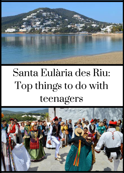 Ideas for the best things to see and do in Santa Eulària des Riu, Ibiza - for families with teenagers, including the best beaches, local fiestas, delicious and authentic food, and outdoor adventures.