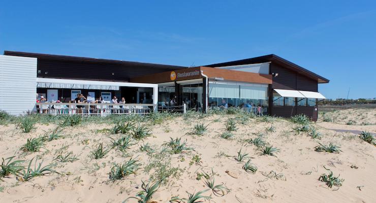 Os Salgados restaurant, Algarve, Portugal. Copyright Gretta Schifano