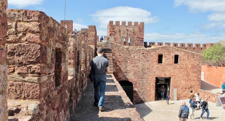 Silves Castle, Algarve, Portugal. Copyright Gretta Schifano
