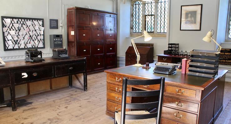 Estate Office, Knole, Kent. Copyright Gretta Schifano