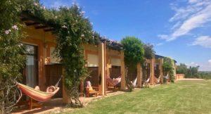 Hammocks at Casa Vale da Lama, Portugal. Copyright Lorenza Bacino