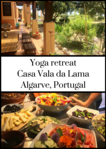 Casa Vala da Lama eco resort in Portugal's Algarve region is a great place for a yoga retreat. Click through for a full review of a relaxing and healthy week-long stay there without kids, including details of accommodation, vegan and vegetarian food, local area and how to get there from the UK.
