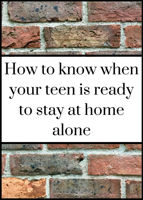 If you're wondering whether or not it's OK to leave your teenage children at home alone while you go away on a holiday or an overnight trip, this post has helpful advice about what the UK law says and how to work out whether or not your kids are ready for this step. Click through for full details. #parenting #teenagekids #familytravel