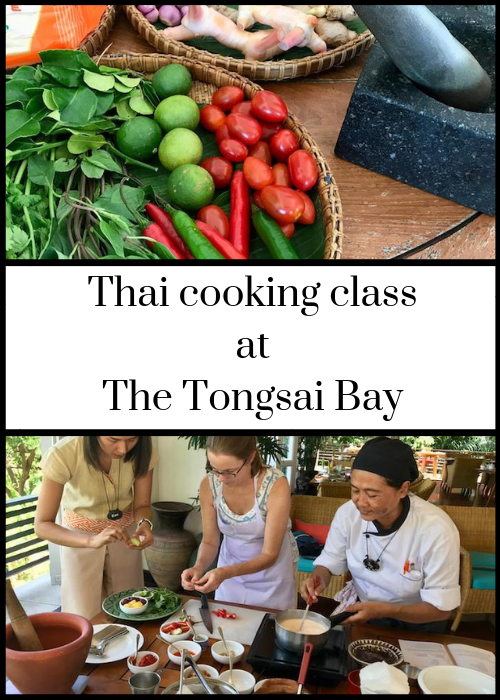 The Thai cooking class at The Tongsai Bay luxury hotel in Koh Samui, Thailand, is brilliant! You cook a five-course meal (there's a vegan version as well as a meat/fish version) with a chef from the hotel and then you get to eat it at the end. You also get to visit the hotels' organic garden before you start cooking. Click through for full details of what you make and what the experience is like, for both adults and teenagers.