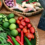 Ingredients for Thai cooking class, The Tongsai Bay. Copyright Gretta Schifano