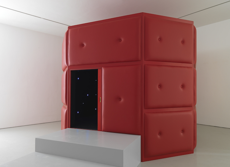 From 24:7 exhibition, Somerset House: Tatsuo Miyajima, Life Palace (tea room), 2013 © Tatsuo Miyajima; Courtesy Lisson Gallery