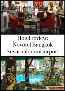 The Novotel Bangkok Suvarnabhumi is the perfect hotel for an airport stopover at Bangkok's main international airport. It's right next to the terminal and has great rooms and facilities. We stayed there on a family Thailand trip in September - click through for the full review and details, including a brief video.