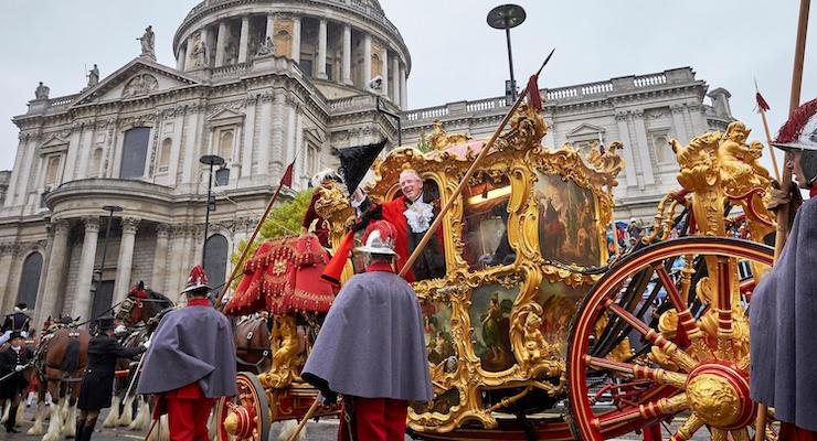 Lord Mayor's Show, London. Copyright City Of London Corporation