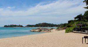 Beach, The Tongsai Bay, Thailand. Copyright Gretta Schifano