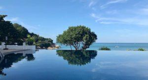 Half Moon Pool, The Tongsai Bay, Thailand. Copyright Gretta Schifano