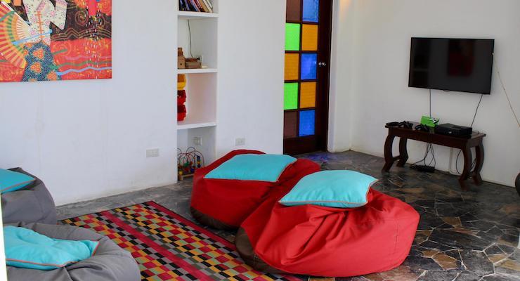 Sip room, The Tongsai Bay. Copyright Gretta Schifano
