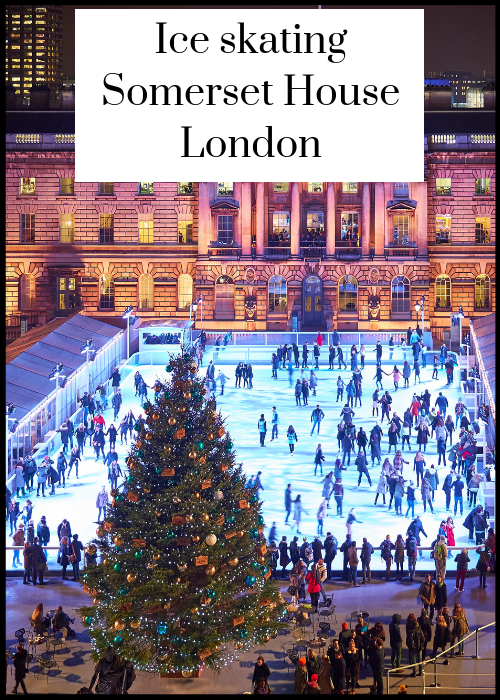 Each winter London's Somerset House has an ice rink in its historic courtyard. It's one of the best places to ice skate in London, especially as there's a Fortnum & Mason Christmas arcade there at the same time. Click through for full details of ice skating at Somerset House.