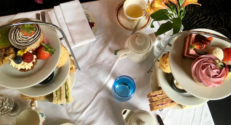 Afternoon tea, Grand Cafe, Southampton. Copyright Gretta Schifano