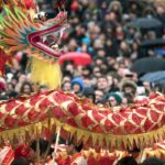 Chinese New Year, Trafalgar Square, London. Copyright Greater London Authority