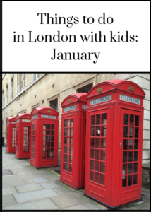 London is a great place for a day out at any time of year, with or without kids in tow. For details of the best things happening in the capital in January and ideas for things to do with your kids in London, including the New Year's Day Parade, ice skating, exhibitions, festivals and more, click through to the full feature.
