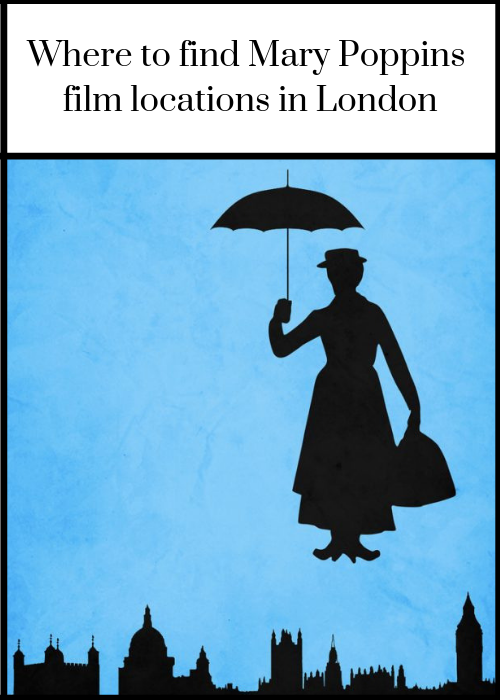 This article tells you where to find Mary Poppins film locations in London. If you'd like to visit the real life places which inspired the Mary Poppins stories and are featured in the movies Mary Poppins and Mary Poppins Return, this post shows you how to do it. For full details of film locations including St Paul's Cathedral, Big Ben & the Bank of England, as well as how to visit them (many for free), click through.