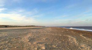 Winterton beach, Norfolk. Copyright Gretta Schifano