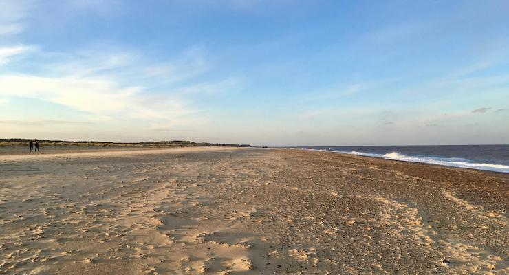 Winterton beach, Norfolk. Copyright Gretta Schifano