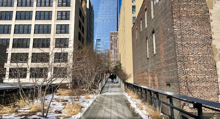 High Line, New York City. Copyright Gretta Schifano