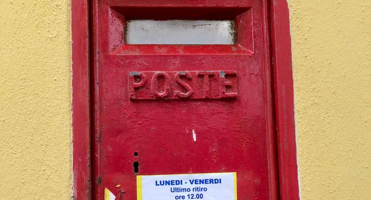 Italian post box. Copyright Gretta Schifano
