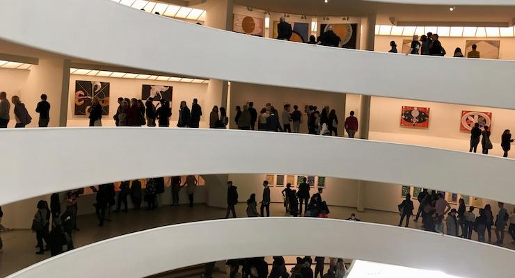 Solomon R. Guggenheim Museum, New York City. Copyright Gretta Schifano