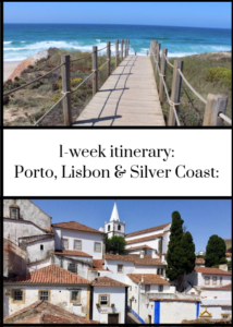 If you're planning a Portugal road trip, check out this 7-night itinerary for Porto, Lisbon and the Silver Coast. You can adapt the route if you have more or less time. Includes recommended places to stay and things to see and do en route, including Óbidos, Nazaré and Coimbra. This is based on a family trip with teenagers, but would also work well without kids. Click through for the full itinerary.