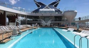 Resort deck, Celebrity Edge. Copyright Gretta Schifano