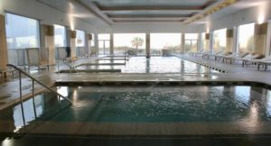 Thalassotherapy spa pools, Royal Thalassa Hotel, Tunisia. Copyright Gretta Schifano