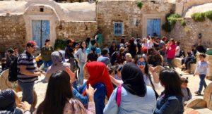 Traditional music & dancing, Zaghouan, Tunisia. Copyright Gretta Schifano