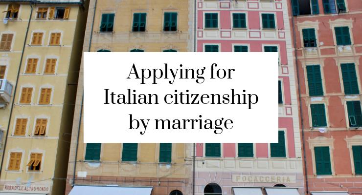 Applying for Italian citizenship - part 7 - Mums do travel