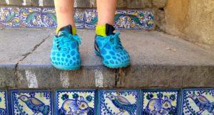 Ceramic steps, Caltigirone, Sicily. Copyright Gretta Schifano