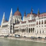 Hungarian Parliament building from the river, Budapest, Hungary. Copyright Gretta Schifano