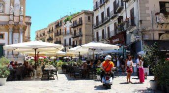Piazza, Palermo, Sicily. Copyright Gretta Schifano