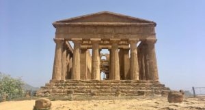 Temple of the Concordia, Agrigento, Sicily. Copyright Izzy Schifano