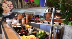 Breakfast area, Radisson Blu Birmingham. Copyright Gretta Schifano