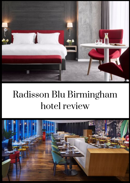 If you'e after a modern, stylish hotel in Birmingham city centre, the Radisson Blu Birmingham is great option. I stayed there for one night to check it out - click through for my full review.