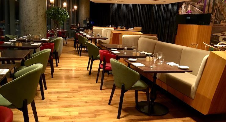 Collage restaurant, Radisson Blu Birmingham. Copyright Gretta Schifano