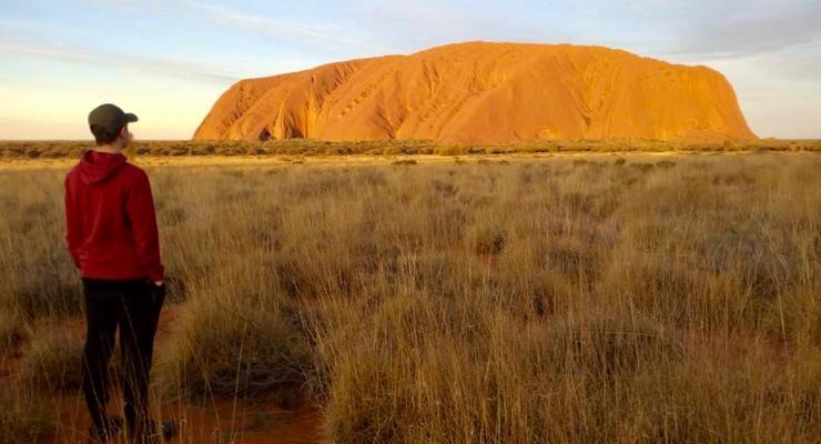 Uluru, Australia. Copyright Lorenza Bacino