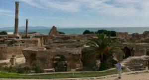 Ruins of Carthage, Carthage, Tunisia. Copyright Nichola West