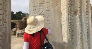 Ruins of Carthage, Tunisia. Copyright Kirstie Pelling