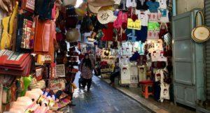 Souks, Tunis medina, Tunisia. Copyright Gretta Schifano