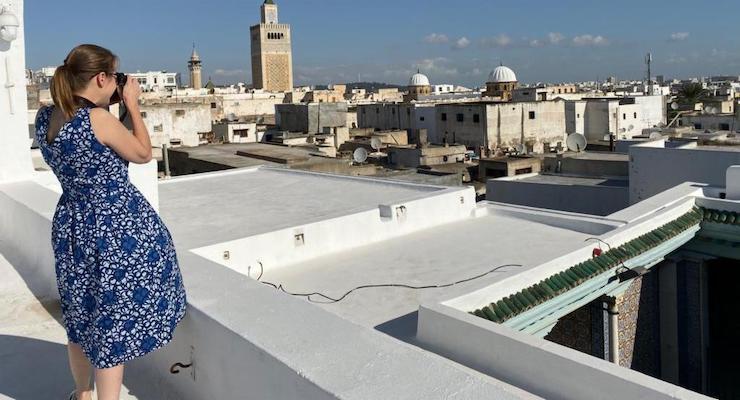 View across Tunis medina rooftops, Tunisia. Copyright Ting Dalton.jpeg