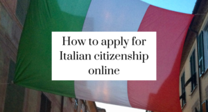 How to apply for Italian citizenship online