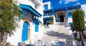 Tunisia ebook cover - Sidi Bou Said