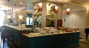 Breakfast buffet, The Gonville Hotel, Cambridge. Copyright Gretta Schifano