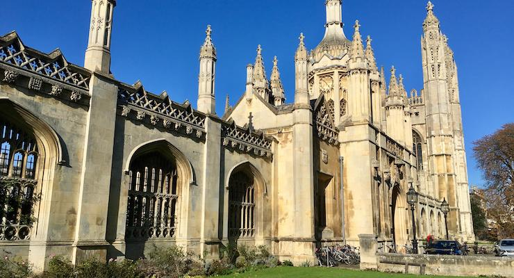 King's College, Cambridge. Copyright Gretta Schifano