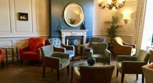 Lounge, The Gonville Hotel, Cambridge. Copyright Gretta Schifano
